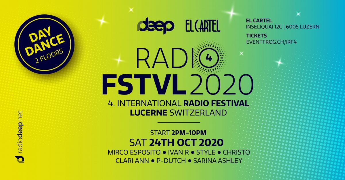 4. International Radio FSTVL 2020 - Daydance Lucerne