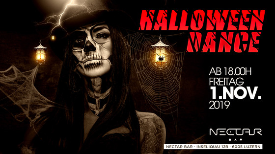 Halloween Dance at Nectar Bar Rooftop